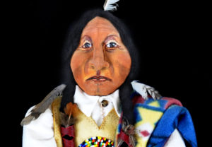 Sitting Bull Doll