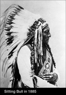 Sitting Bull in 1885