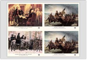 1976 US Bicentennial Souvenir Sheets