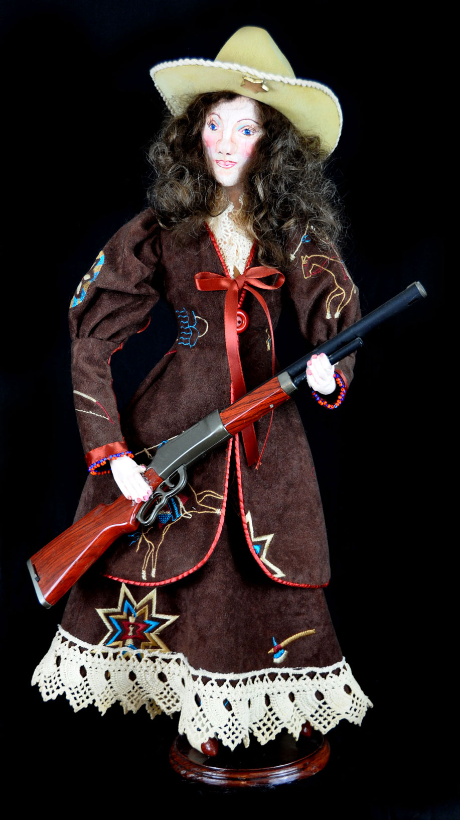 Annie Oakley Doll Large