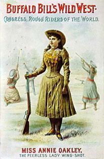 Annie Oakley Wild West Show Poster
