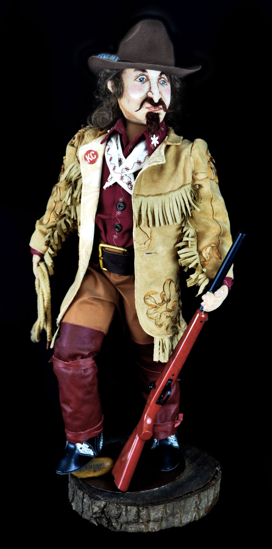 Buffalo Bill Doll Large