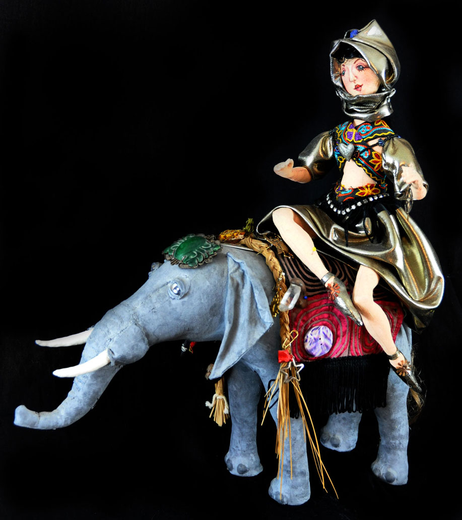Elephant Queen Doll - Handmade Dolls Online