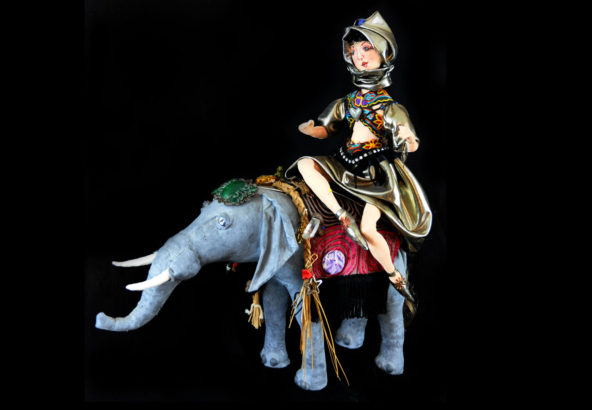 Elephant Queen Doll