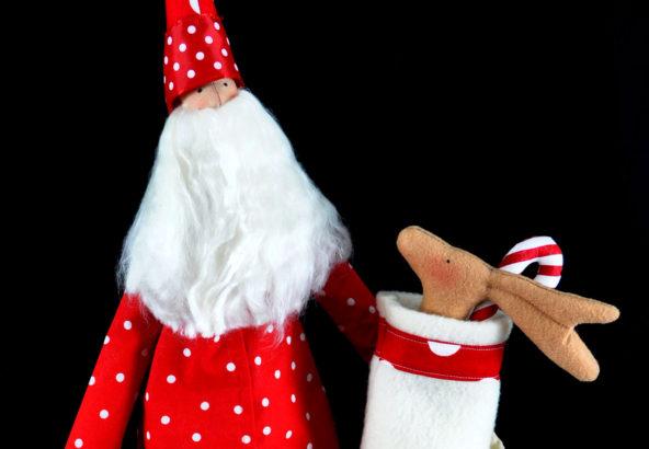 Tilda Santa Doll