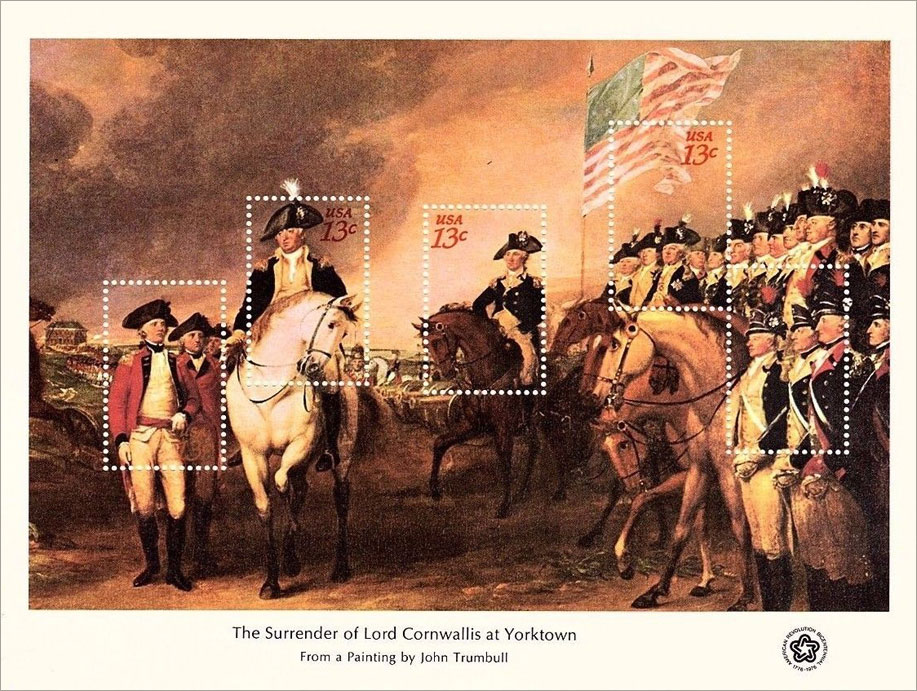 The Surrender of Lord Cornwallis at Yorktown