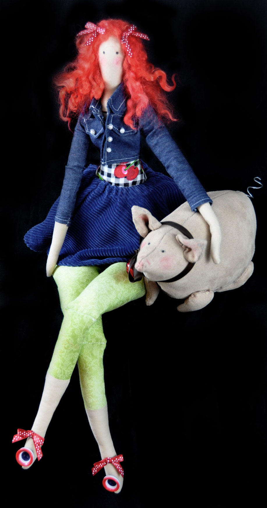 Tilda Country Girl Doll - Handmade Dolls Online