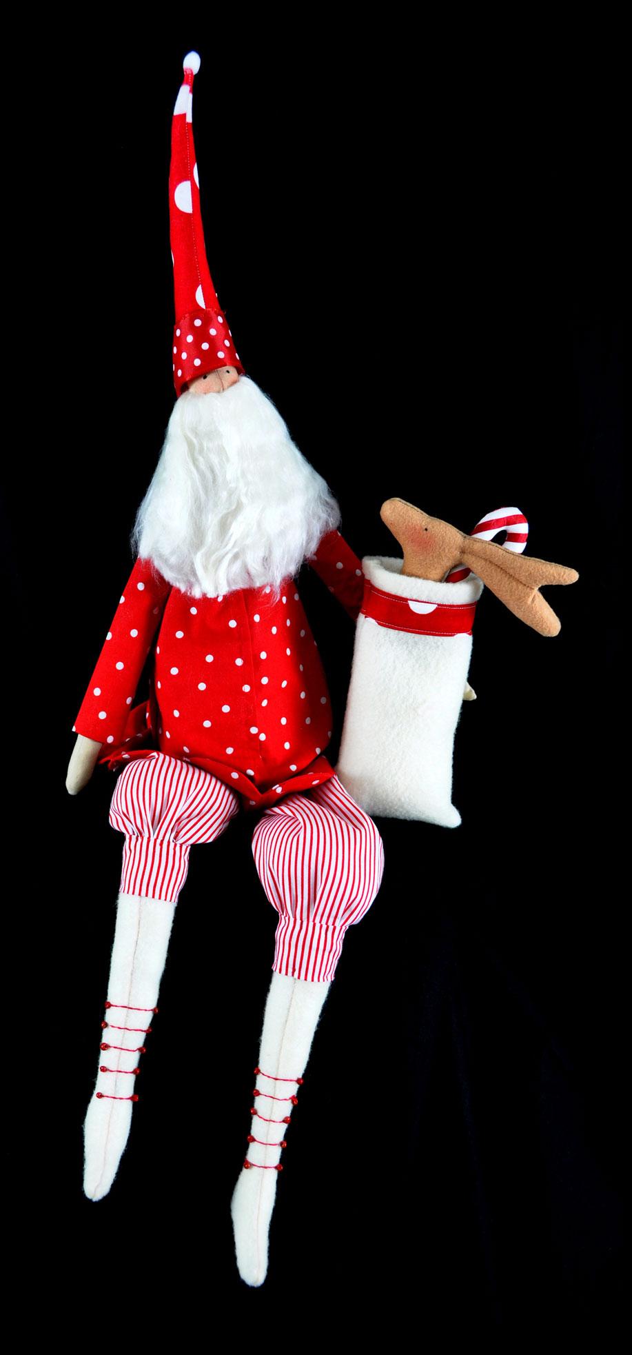 Tilda Santa Doll Large