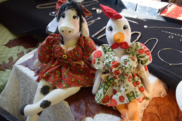 Dolls at Arts and Crafts Festival