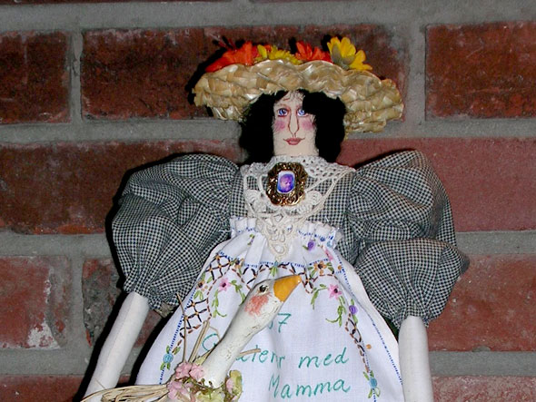 Handmade Norwegian Doll