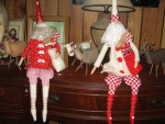 Tilda Santa Dolls Featured