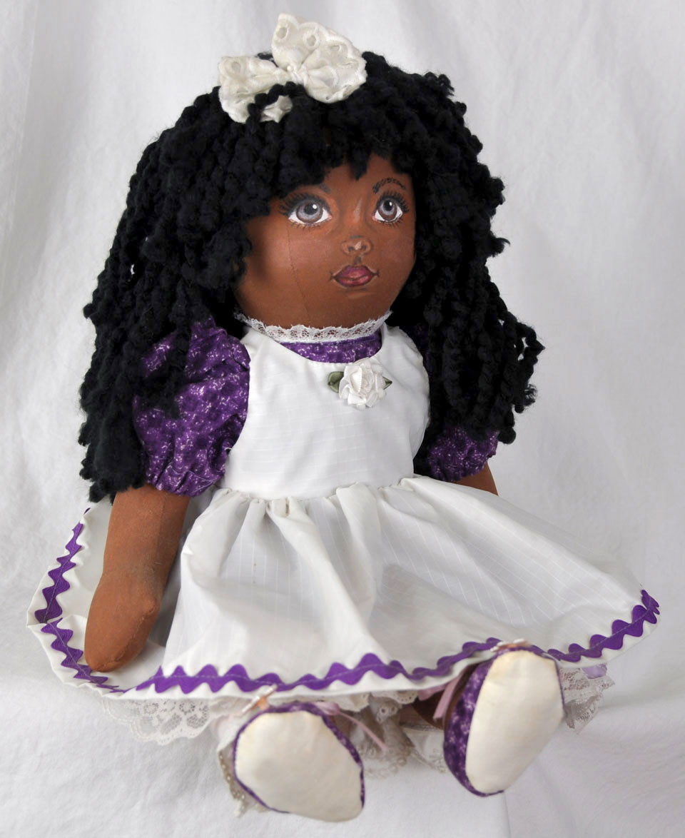 Cloth African Girl Doll 2