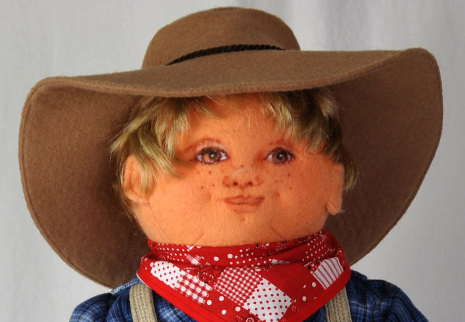 country cousin male doll face