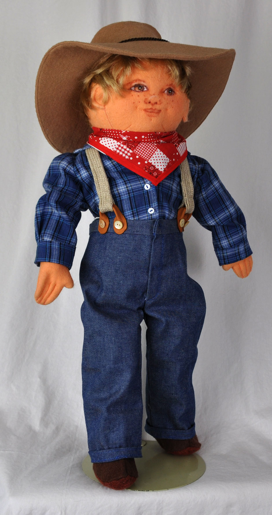 Country Cousin Boy Doll 1