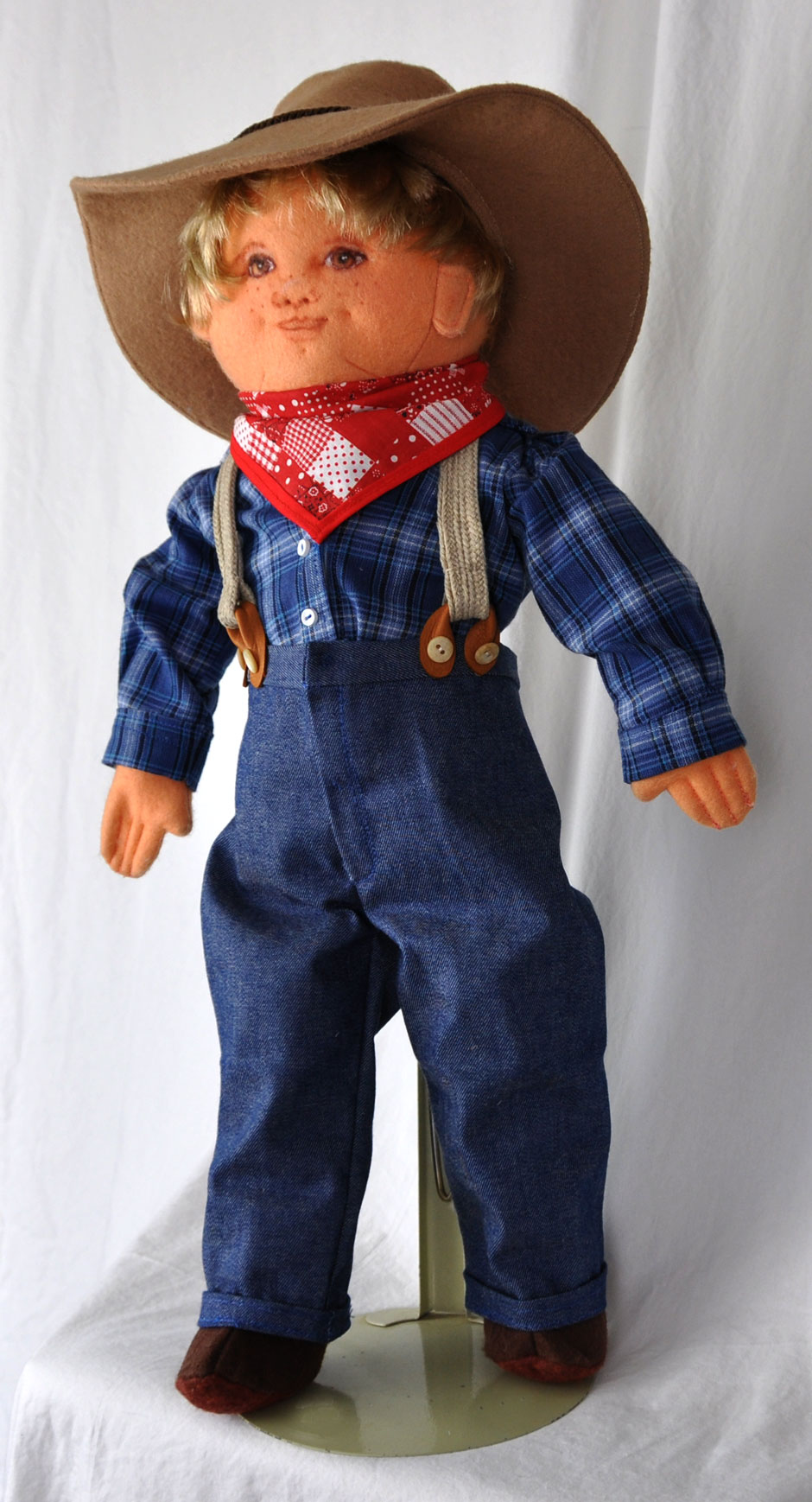 Country Cousin Boy Doll - Handmade Dolls Online