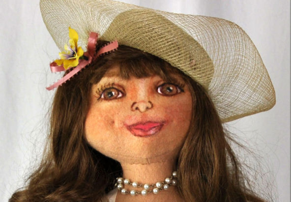 handmade ruby sparks doll face