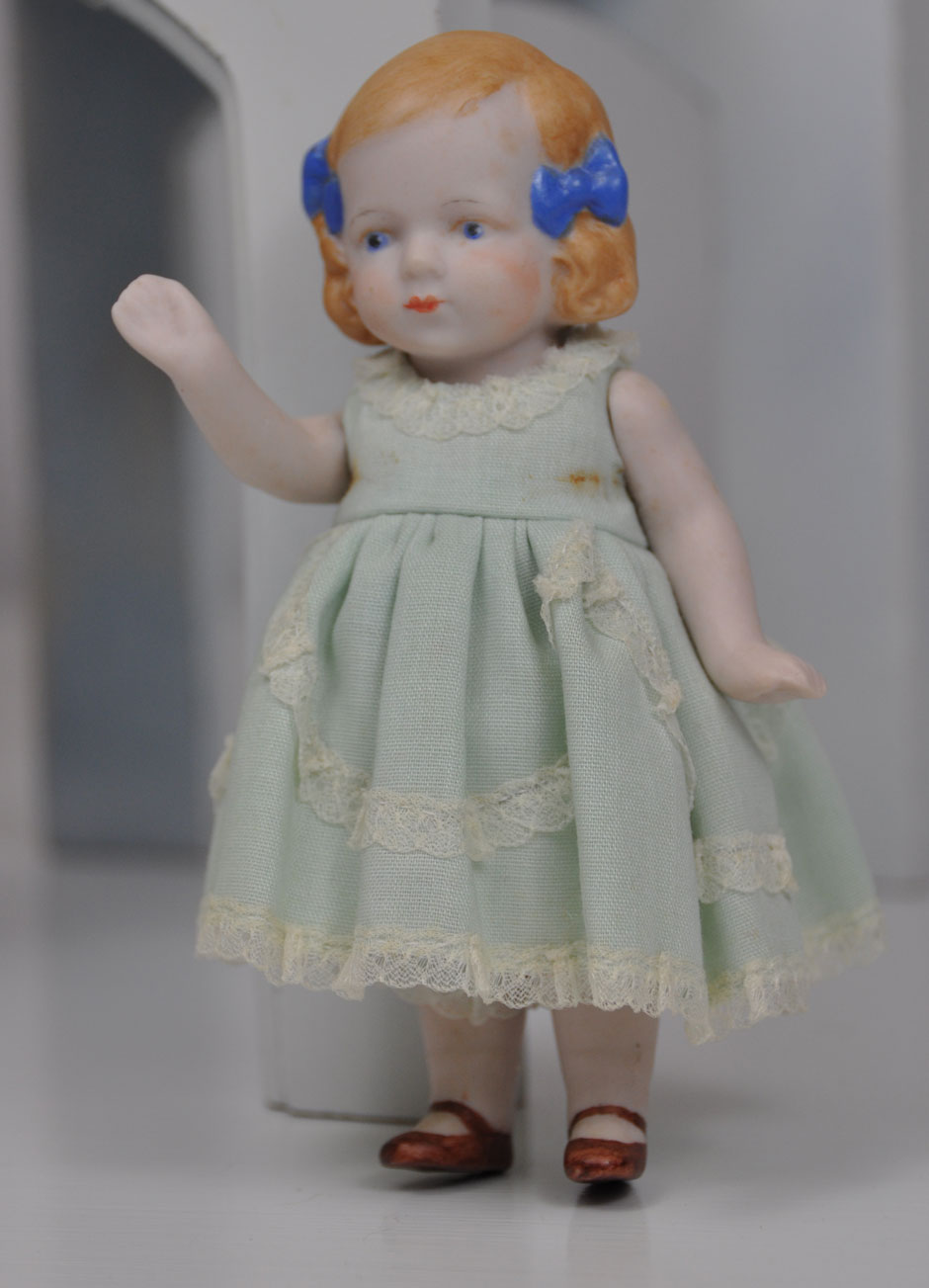 Antique Hertwig Limbach Bisque Doll 1