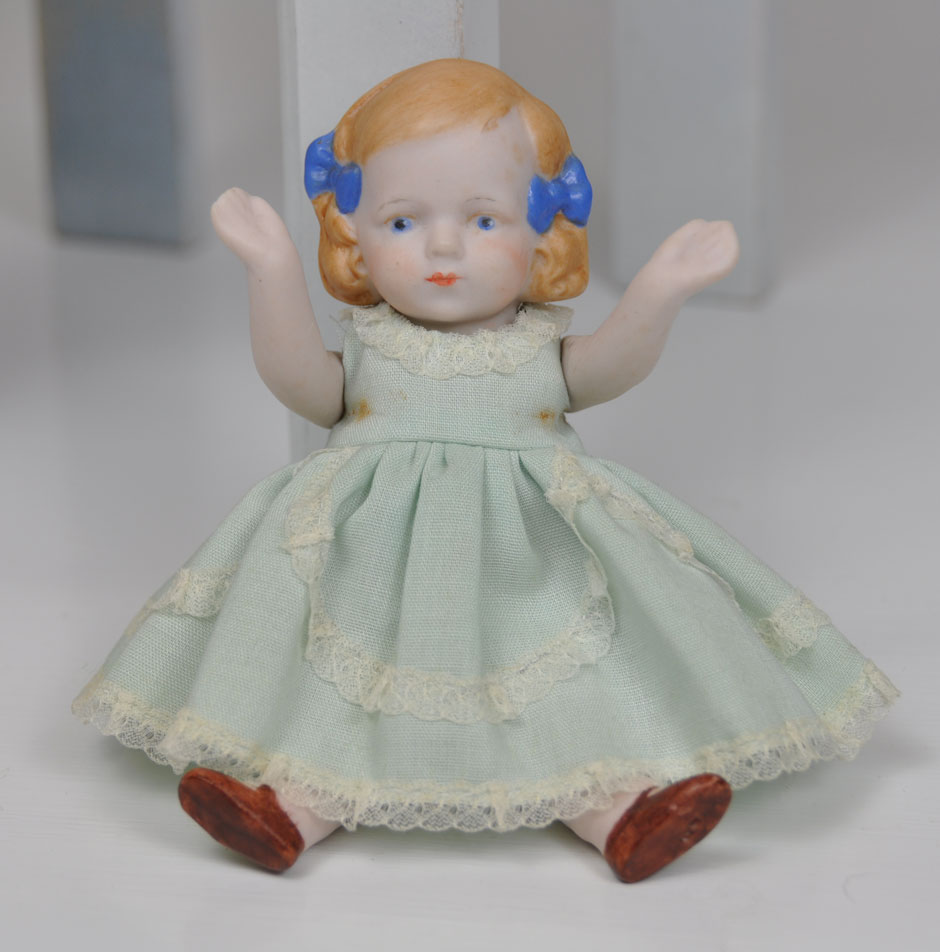 Antique Hertwig Limbach Bisque Doll 2