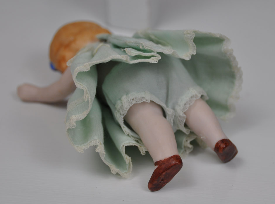 Antique Hertwig Limbach Bisque Doll 3