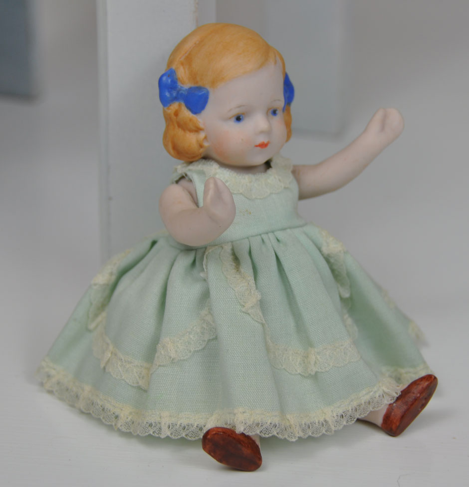 Antique Hertwig Limbach Bisque Doll 4