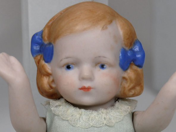 Hertwig Limbach Bisque Doll Antique