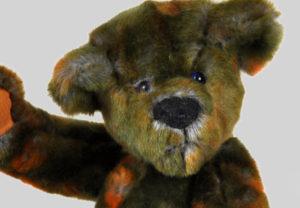 gunther outback teddy bear face