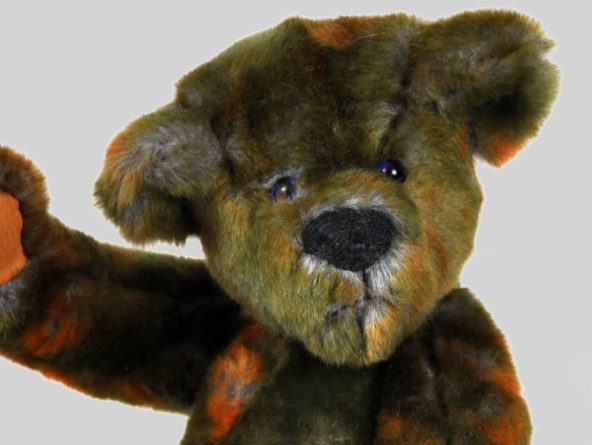 gunther outback teddy bear face