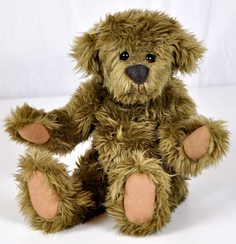 Gunther Authentic Teddy Bear Handmade OOAK For Sale Online 1