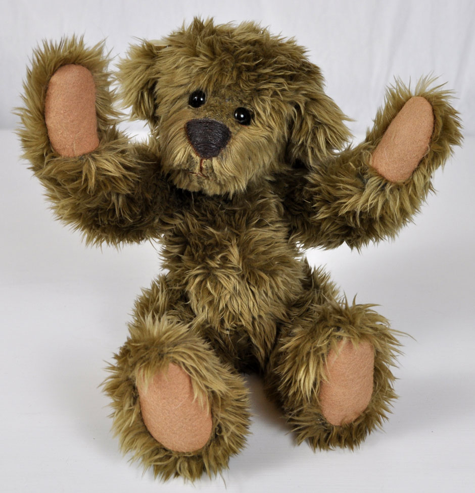 Gunther Authentic Teddy Bear Handmade - Handmade Dolls Online