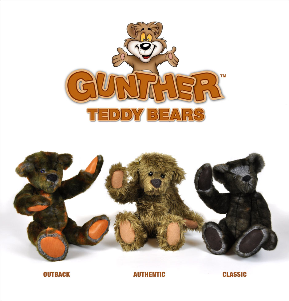 Gunther Teddy Bears - Handmade Dolls Online