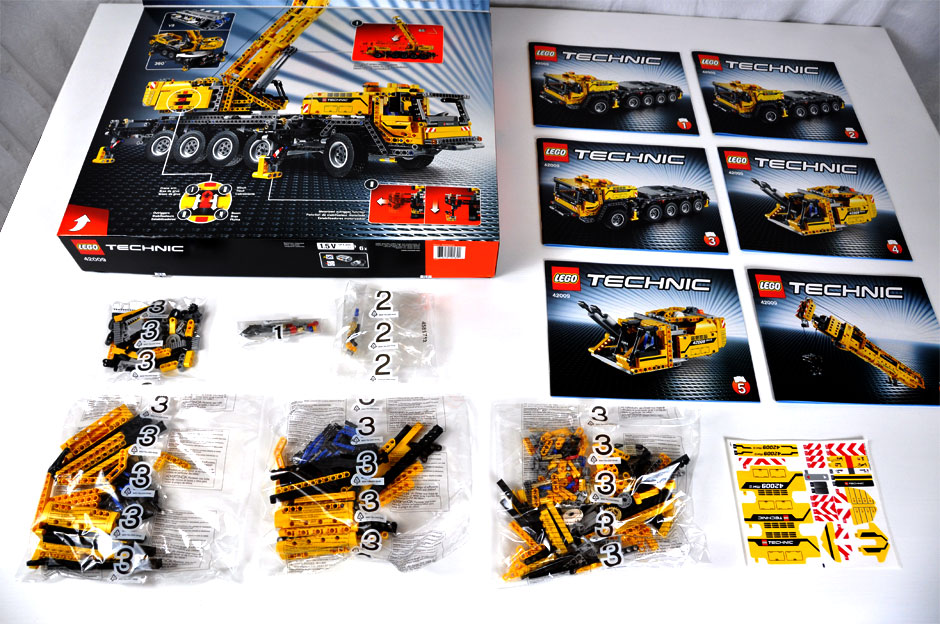 Lego Mobile Crane MK II #42009 7