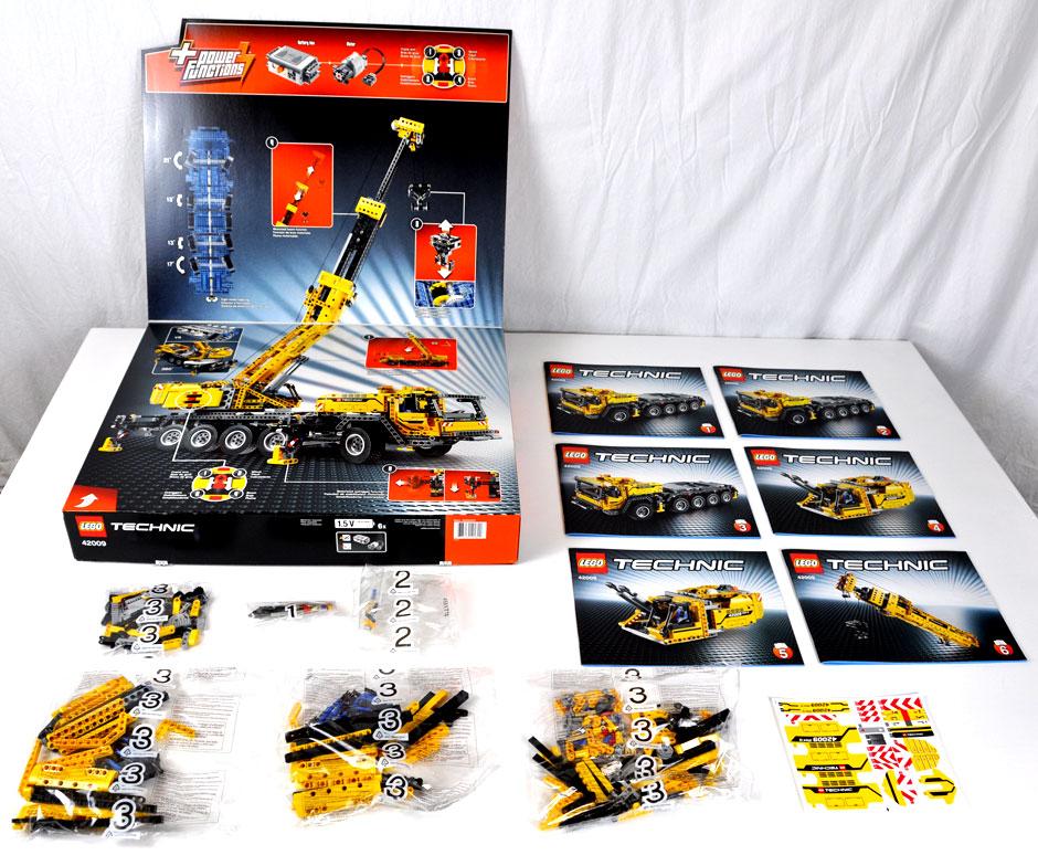 Lego Mobile Crane MK II #42009 8