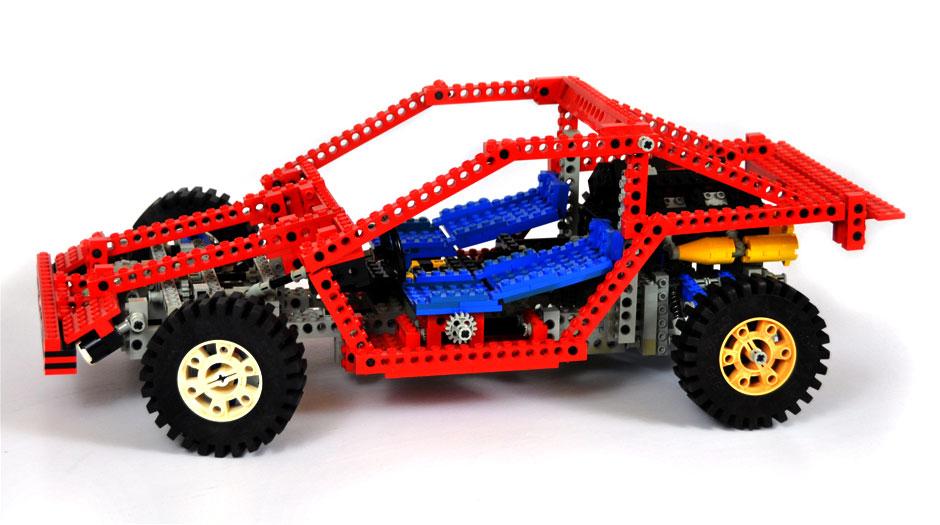 Lego Technic Test Car 8865 1