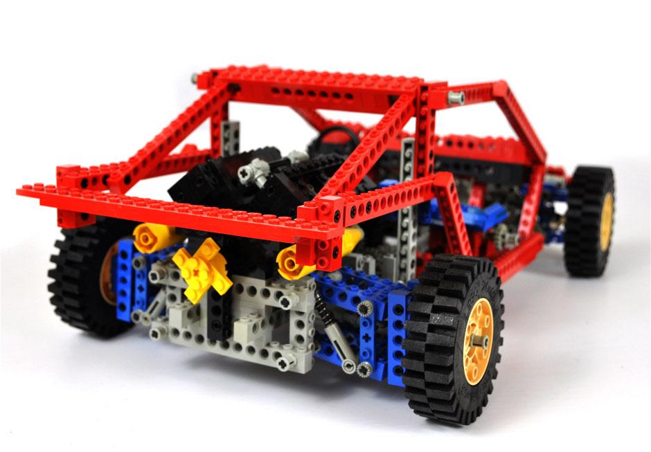 Lego Technic Test Car 8865 5