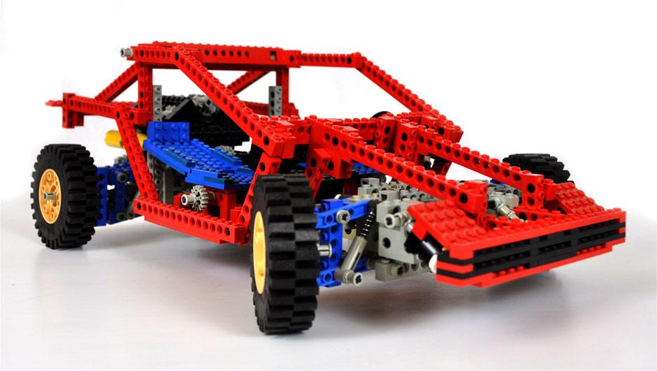 Lego Technic Test Car 8865 6