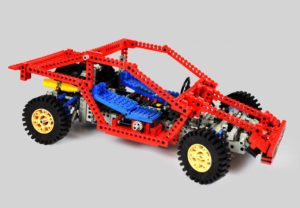lego technic test car 8865