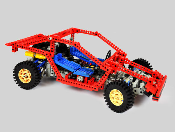 lego technic test car 8865