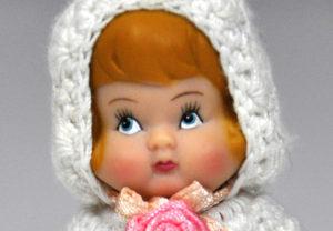 Miniature Antique Doll