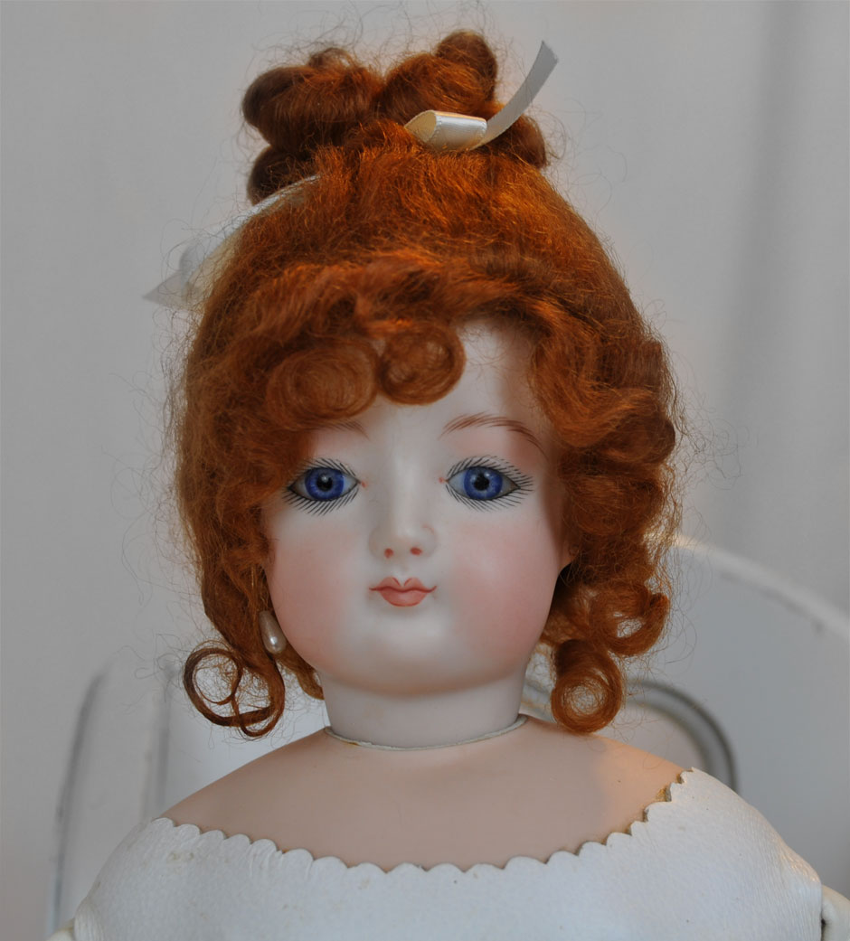 Jumeau French Repro Doll Face