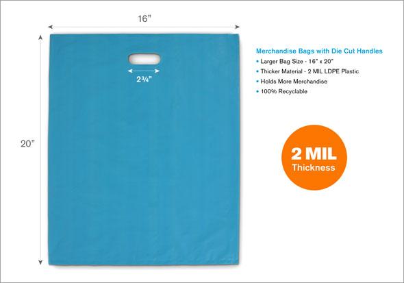 JDL Studio Large Merchandise Bags Specs
